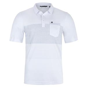Men`s Golden Hour Tennis Polo White