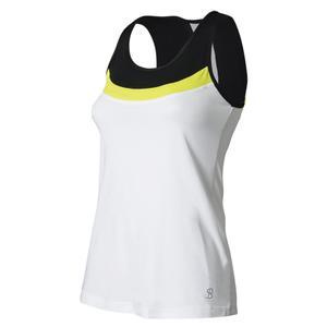 Women`s Full Back Tennis Top White