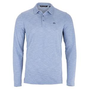 Men`s Real Eye Catcher Long Sleeve Tennis Polo Heather Kentucky