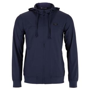 Men`s Wanderlust Tennis Jacket Mood Indigo