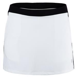 Women`s Aria 13 Inch Tennis Skort White