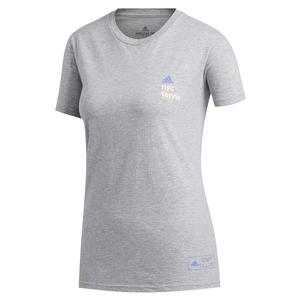 Women`s NYC 5th Avenue Tennis Tee Medium Grey