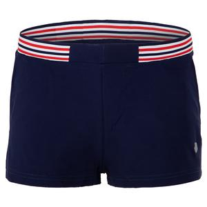 Women`s Heritage Tennis Short Navy