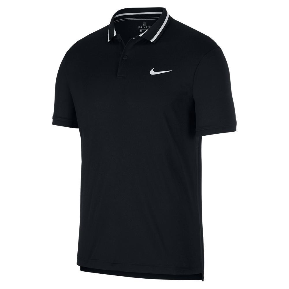 Men's Court Dry Pique Tennis Polo
