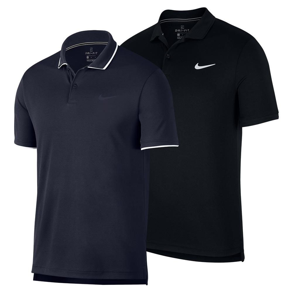Men's Court Dry Team Tennis Polo