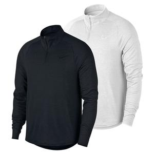 Men`s Court Challenger 1/2 Zip Long Sleeve Tennis Top