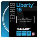 Liberty 16G Tennis String WHITE
