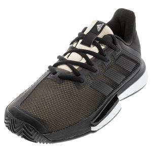 Women`s SoleMatch Bounce Tennis Shoes Core Black and Linen