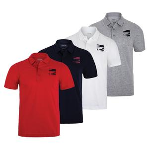 Men`s Novak Djokovic Fan Capsule Left Chest Logo Tennis Polo