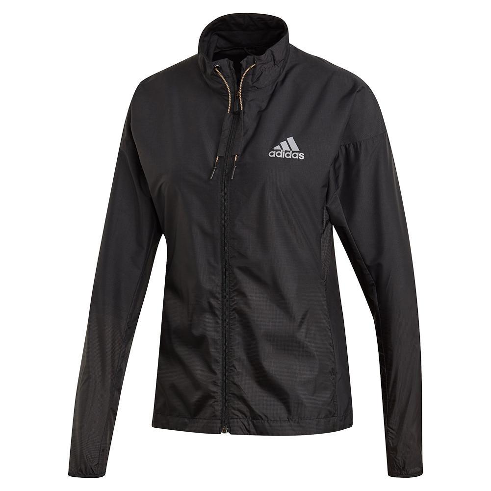 Women's Windweave Tennis Jacket Black