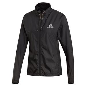 Women`s Windweave Tennis Jacket Black