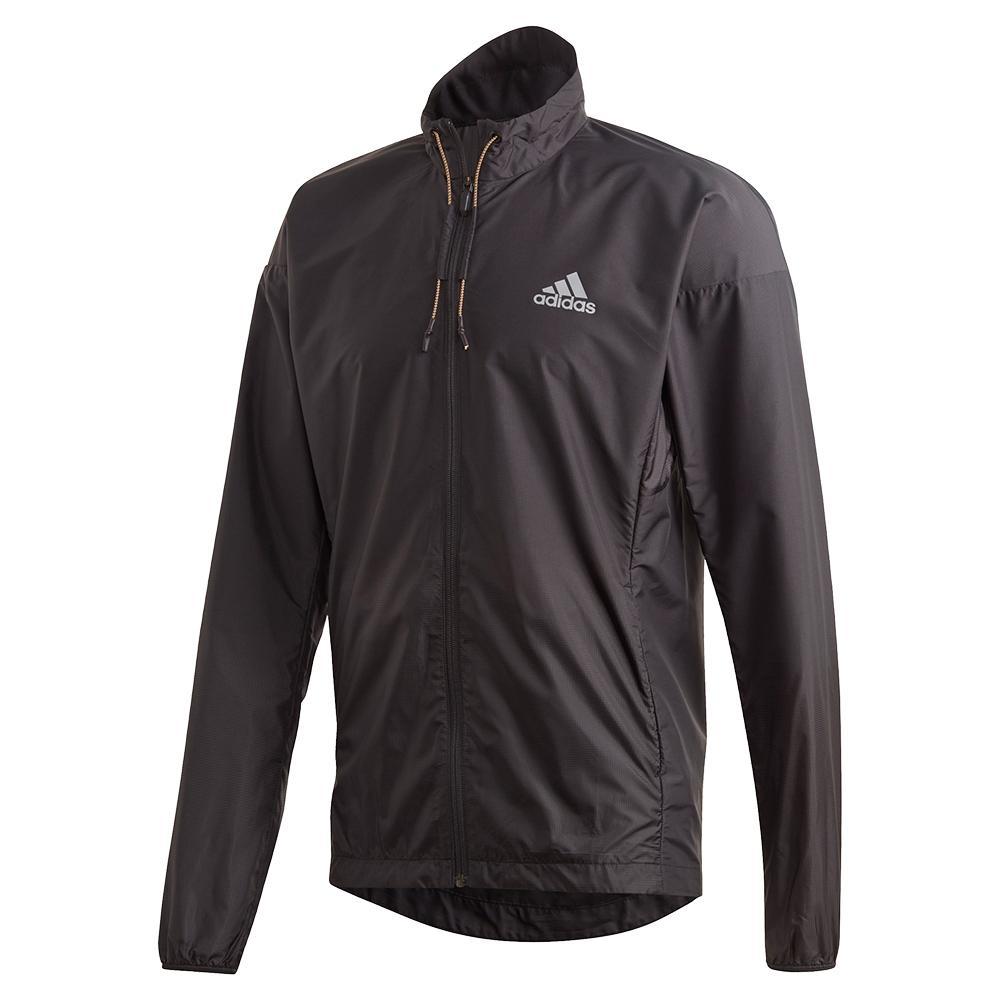Men's Windweave Tennis Jacket Black