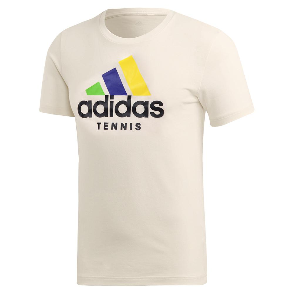 Tennisexpress Men`s Category Limited Edition Tennis Tee Cream White