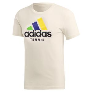 Men`s Category Limited Edition Tennis Tee Cream White
