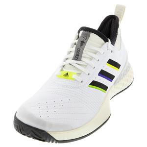 Men`s Adizero Edberg Ubersonic 3 Tennis Shoes White and Cream