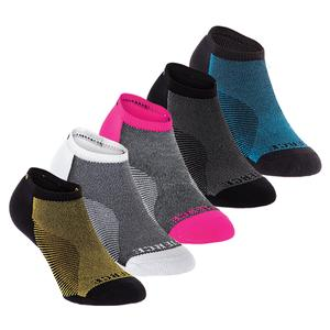 Experia Fierce Micro-Mini Tennis Crew Socks