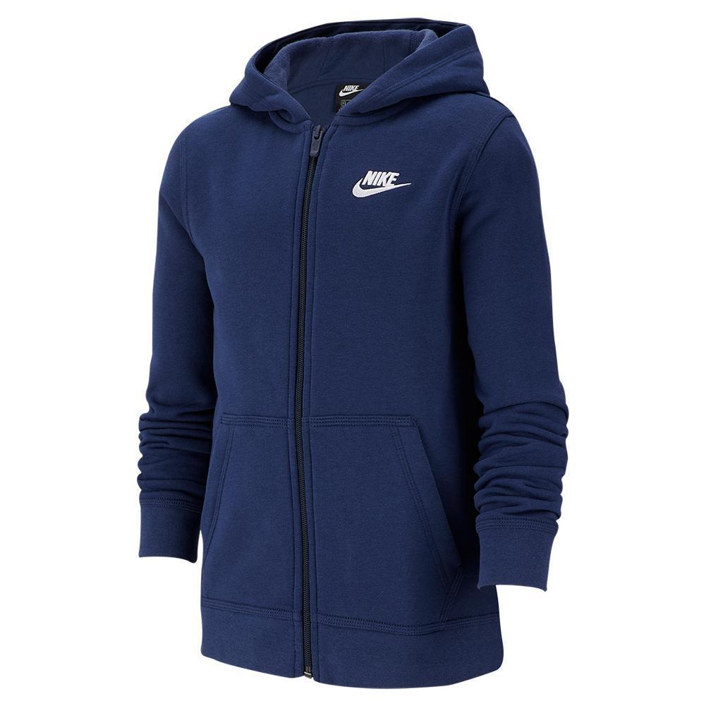 Boys'sportswear Club Full- Zip Hoodie