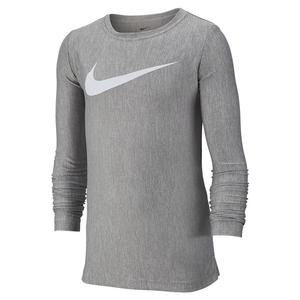 Boys` Long-Sleeve Training Top