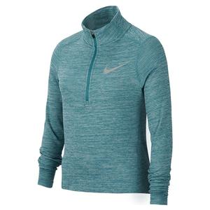 Girls` Long-Sleeve 1/2-Zip Running Top