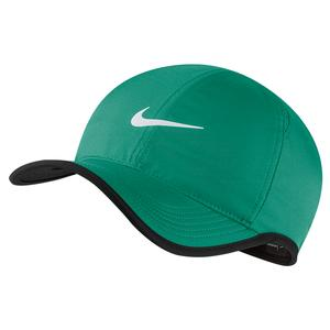 Court AeroBill Featherlight Tennis Cap Neptune Green