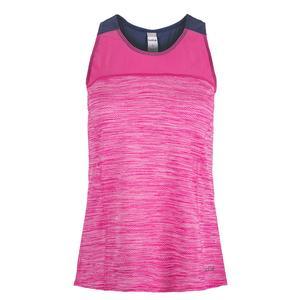 Women`s Pink Haze Racerback Tennis Tank Pink Passion