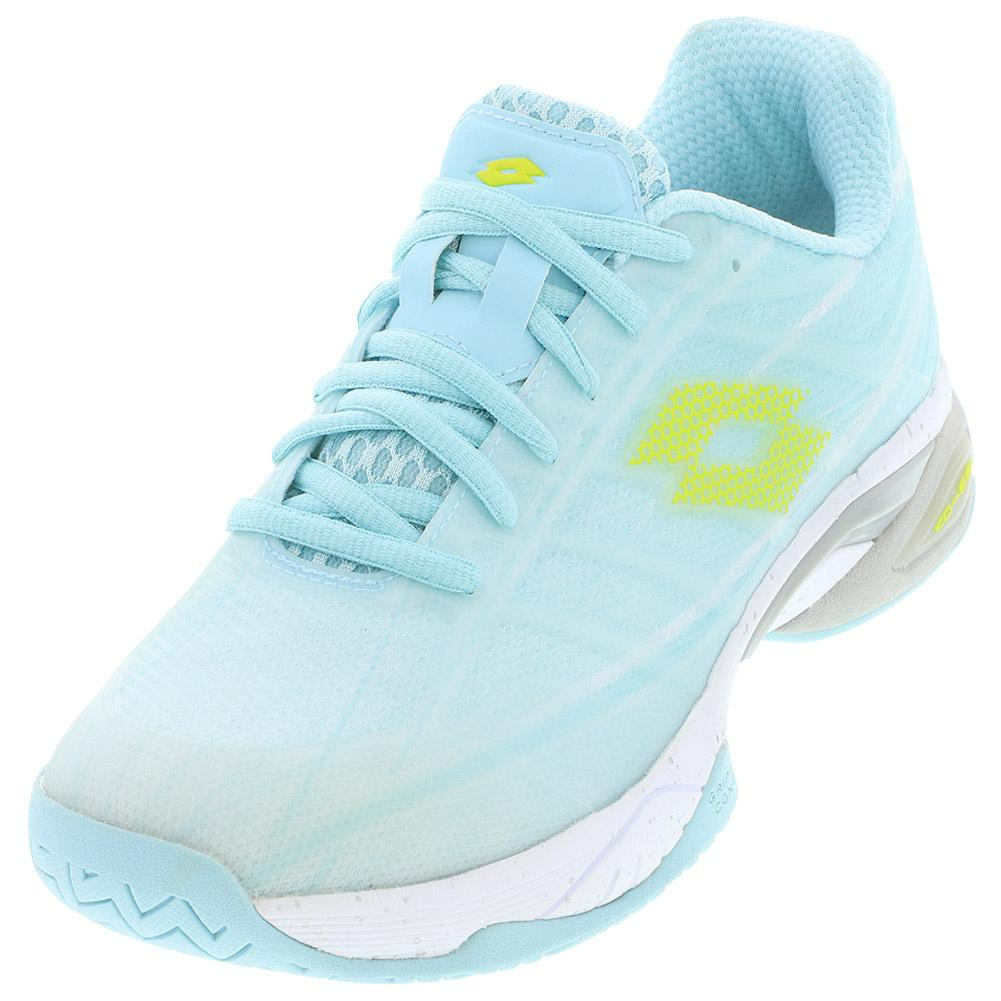Women's Mirage 300 Speed Tennis Shoes Clearwater And All White