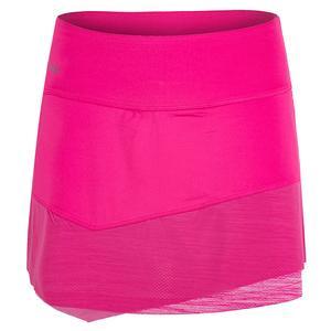 Women`s Pink Haze 14 Inch Tennis Skort Pink Passion