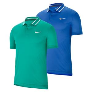 Men`s Court Dry Pique Tennis Polo