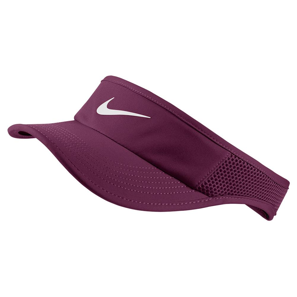 Nike Women's Aerobill Featherlight Adjustable Tennis Visor