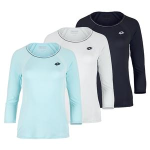 Women`s Squadra Long Sleeve Tennis Top