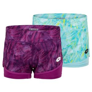 Women`s Top Ten Printed Tennis Short
