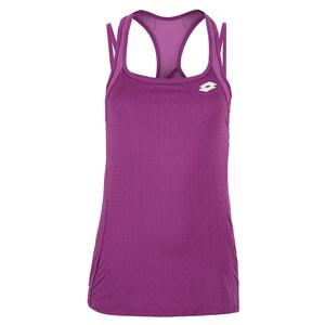 Women`s Top Ten Tennis Tank Purple Willow