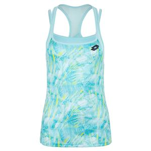 Women`s Top Ten Printed Tennis Tank Clearwater