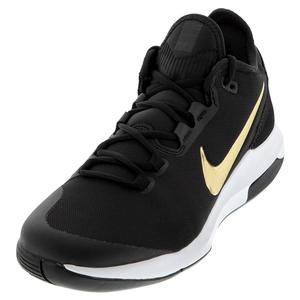 Men`s Air Max Wildcard Tennis Shoes Black and Metallic Gold