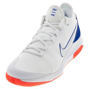 Men`s Air Max Wildcard Tennis Shoes White and Game Royal