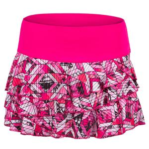 Women`s Chroma Rally Tennis Skort Shocking Pink