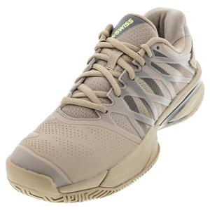 Men`s Ultrashot 2 Tennis Shoes Light Taupe and Dark Gull Gray