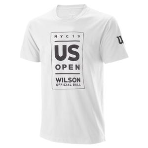Juniors` US Open Lockup Tennis Tee White