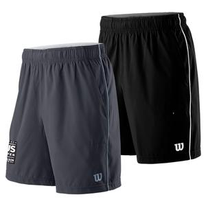 Men`s 2019 US Open Competition 8 Inch Tennis Short Black and White
