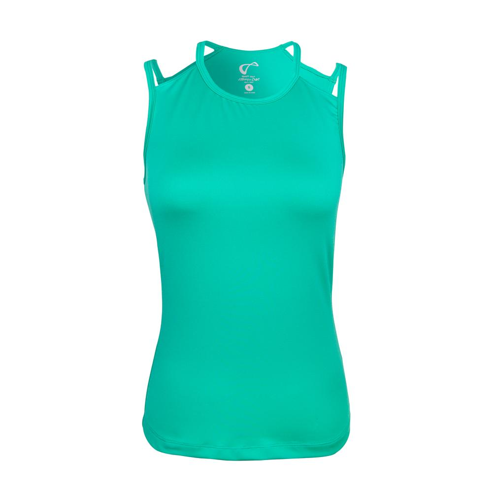 Girls ` Victory Tennis Tank Spearmint