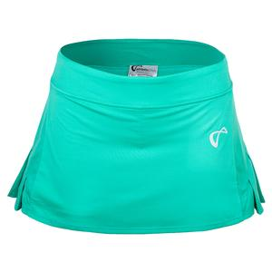 Women`s Baseline Pleated Tennis Skirt Spearmint