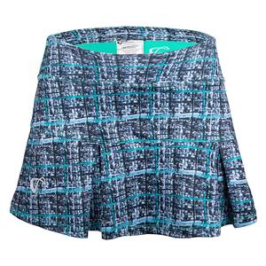 Women`s Baseline Pleated Tennis Skirt Spearmint Hatch