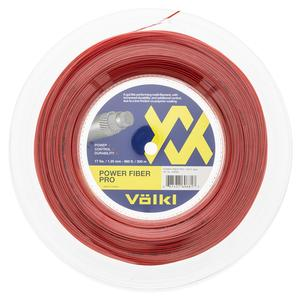 Power Fiber Pro Lava Tennis String Reel