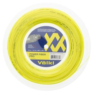 Power Fiber Pro Neon Yellow Tennis String Reel