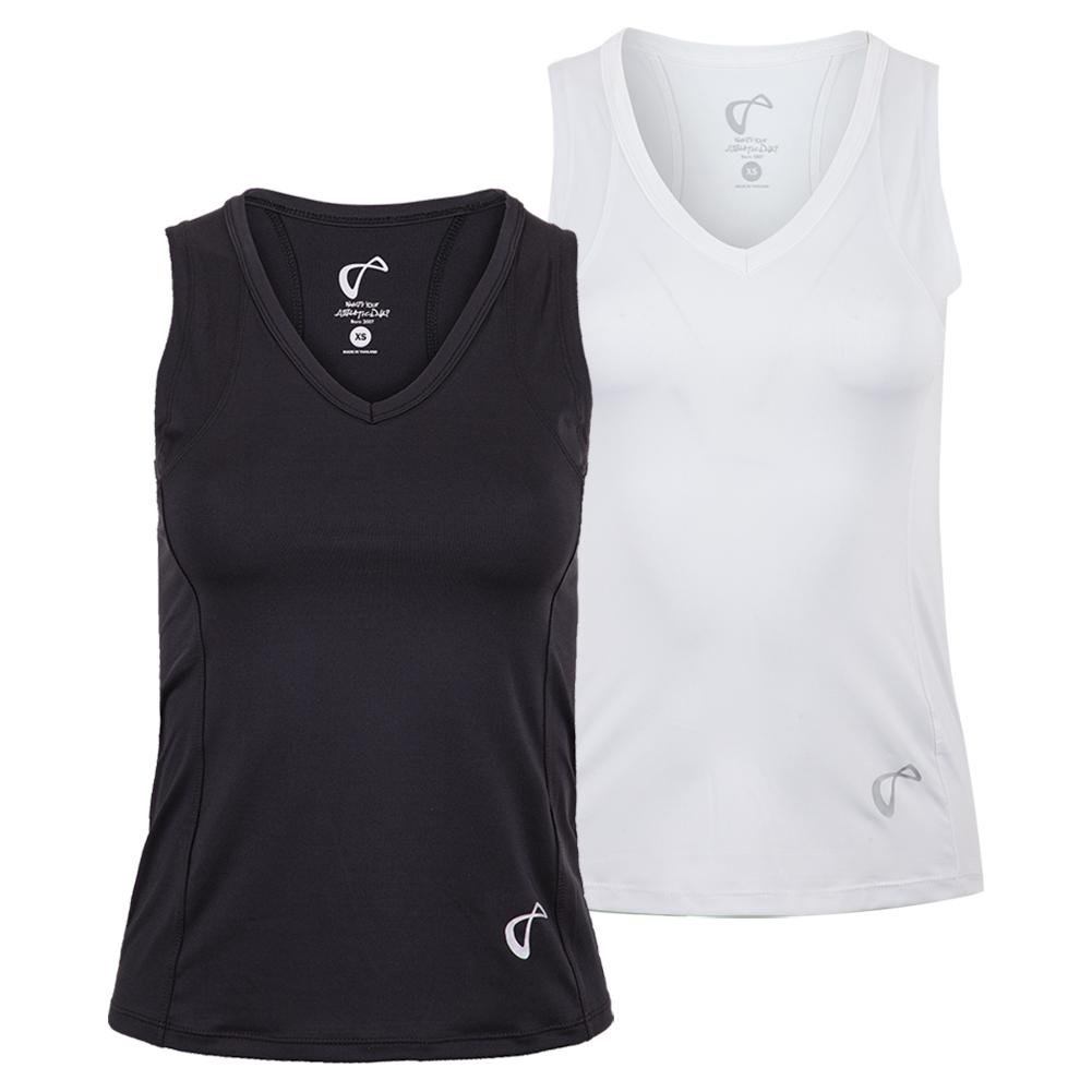 Women's Baseline V- Neck Tennis Tank