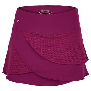 Women`s A Cut Above 13 Inch Tennis Skort Plum