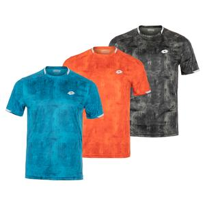Men`s Top Ten Printed Tennis Top