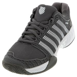 Women`s Hypercourt Express Limited Edition Tennis Shoes Charcoal and White