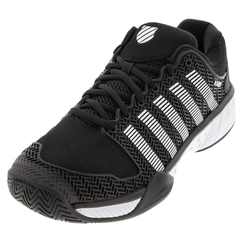 Men's Hypercourt Express Limited Edition Tennis Shoes Black And White