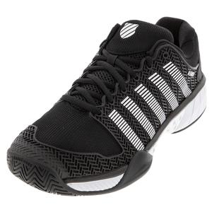 Men`s Hypercourt Express Limited Edition Tennis Shoes Black and White